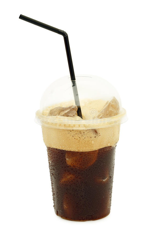 iced-coffee-frappe-plastic-cup-isolated-white-45462962